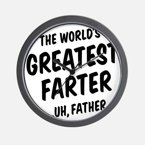 The World's Greatest Farter Wall Clock