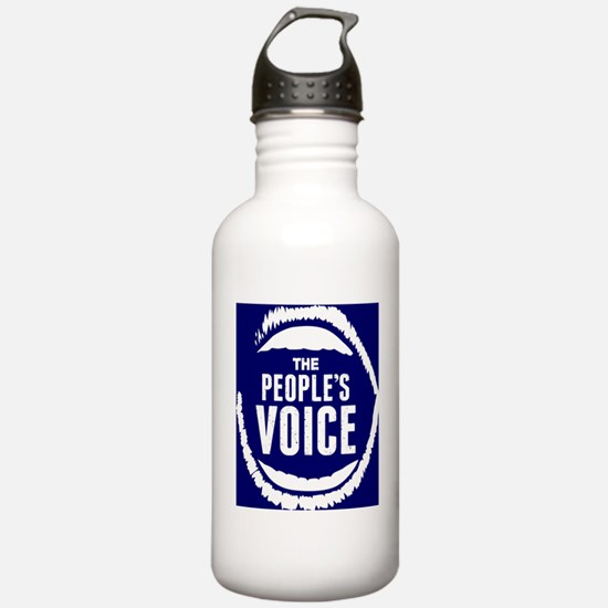 The peoples voice Water Bottle