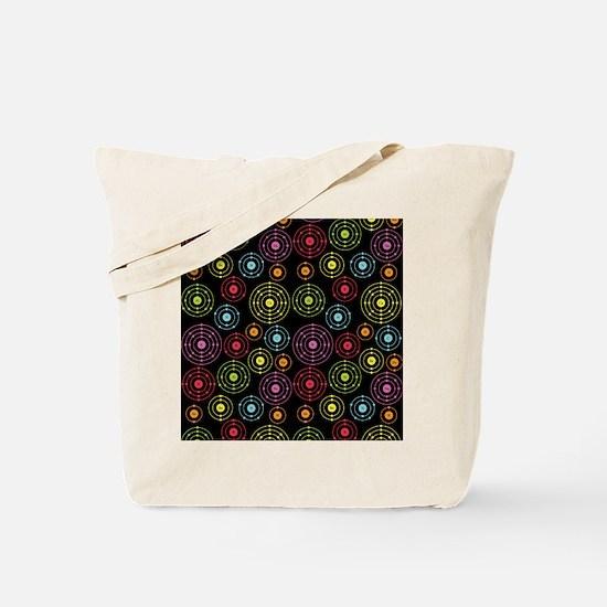 Periodic Shells (Dark) Tote Bag