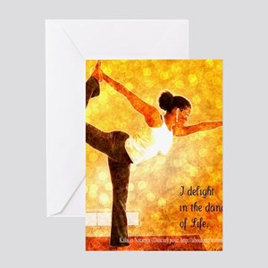 Delight In the Dance of Life Greeting Card