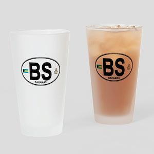 bahamas-oval Drinking Glass
