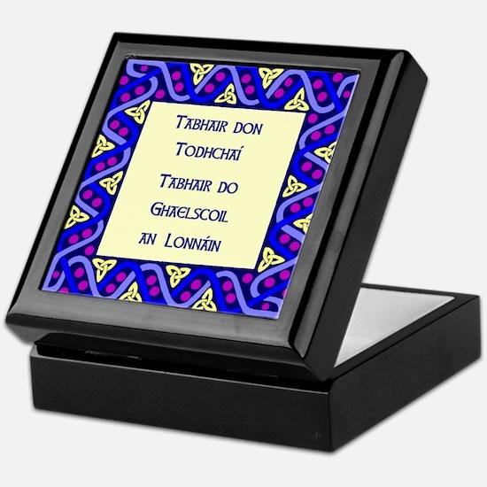 Gaelscoil an Lonnáin Keepsake Box