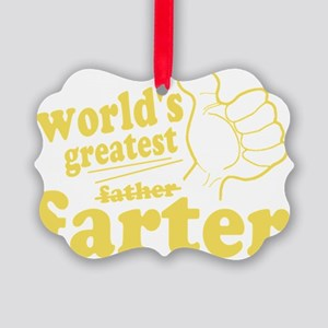 Worlds Greatest Farter Picture Ornament