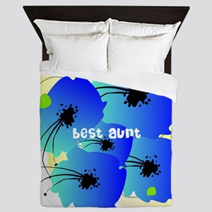 best aunt Queen Duvet