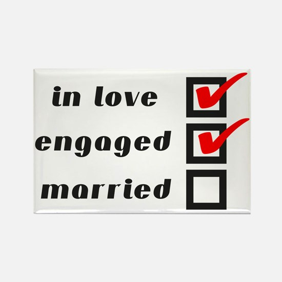 Engaged Rectangle Magnet