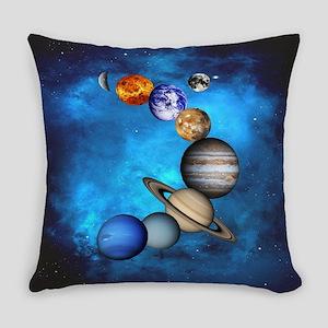 Solar System Everyday Pillow