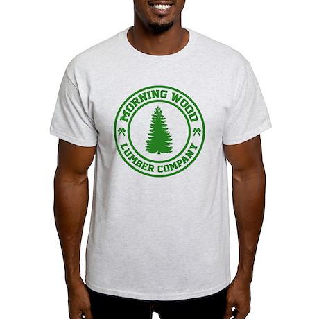 morningWoodLumber3E Light T-Shirt