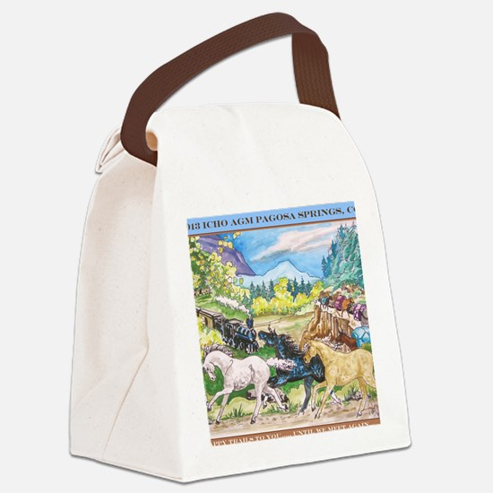 2013 ICHO AGM Canvas Lunch Bag