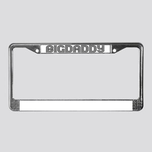 Big Daddy License Plate Frame