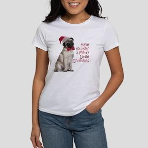 Santa Pug Women's T-Shirt