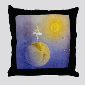Earth Dancer Throw Pillow