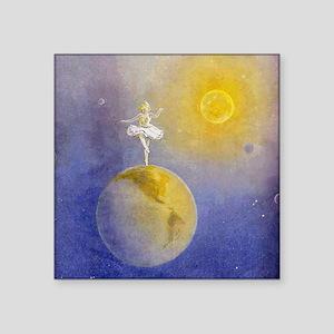 """Earth Dancer Square Sticker 3"""" x 3"""""""
