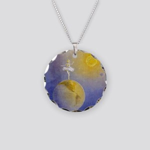 Earth Dancer Necklace Circle Charm