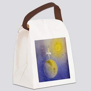 Earth Dancer Canvas Lunch Bag