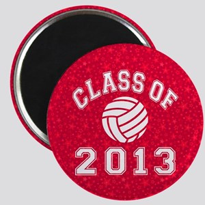 Class Of 2013 Volleyball Magnet