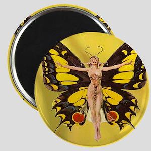 Butterfly Nouveau Magnet