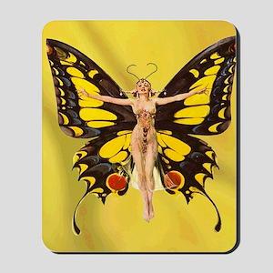 Butterfly Nouveau Mousepad
