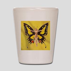 Butterfly Nouveau Shot Glass