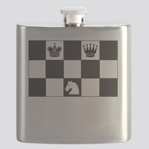 Royally Forked Flask