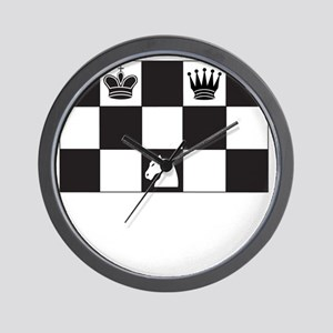 Royally Forked Wall Clock