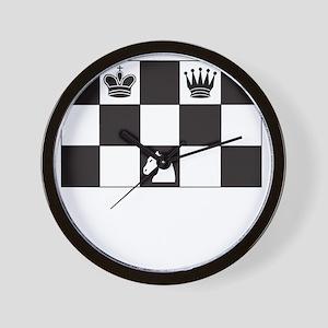 Royally Forked Wall Clock