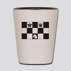 Royally Forked Shot Glass