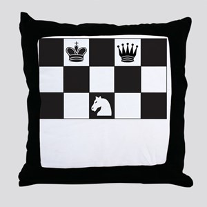 Royally Forked Throw Pillow