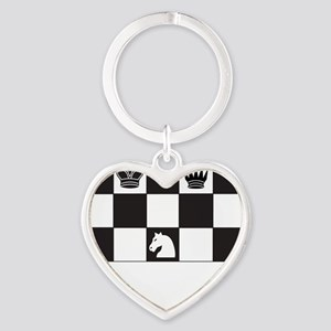 Royally Forked Heart Keychain