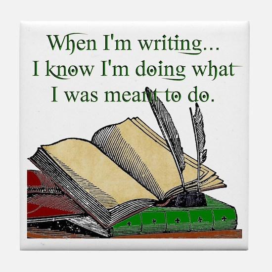 When I write Tile Coaster