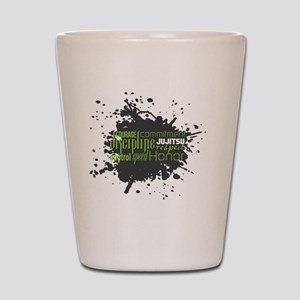 Jujitsu Inspirational Splatter Shot Glass