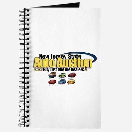 NJ Auto Cars Logo Journal