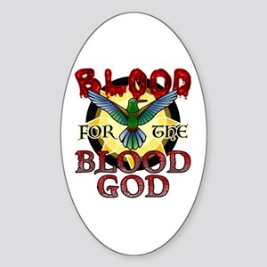 Blood for the Blood God Sticker