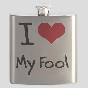 I Love My Fool Flask