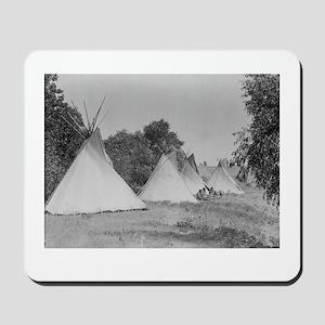 Camp Life NDN History Mousepad