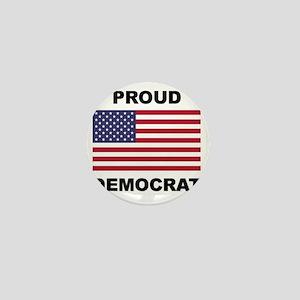 Democrat Pride (Flag) Mini Button