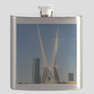 OklahomaCity_5X7_Card_SkyDanceBridge Flask