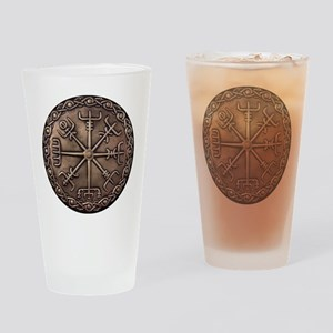 Brass Vegvisir Viking compass Drinking Glass