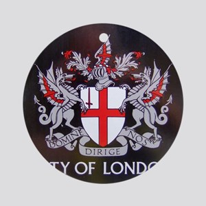 City of London Crest Round Ornament