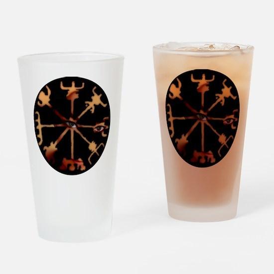 Vegvisir Eyes O Drinking Glass