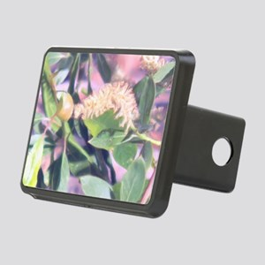 Pink Weed Rectangular Hitch Cover