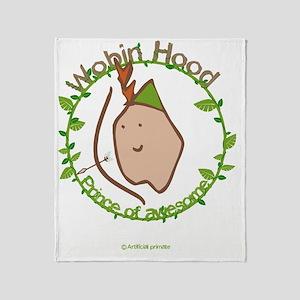 Wobin hood Throw Blanket