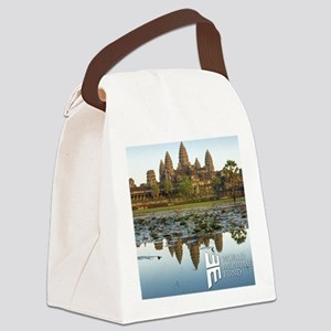 Angkor Wat Canvas Lunch Bag