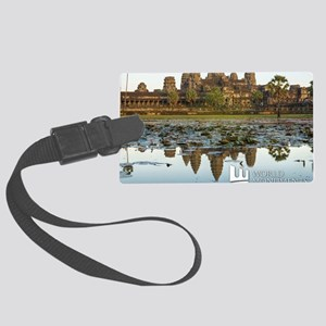 Angkor Wat Large Luggage Tag