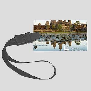 Angkor Wat Large Luggage Tag