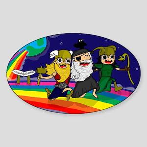 Norse Pride Sticker (Oval)