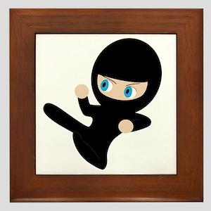 Womb Ninja Framed Tile