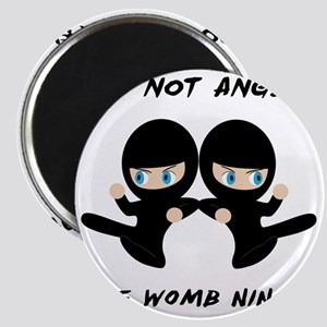 Womb Ninja Twins Magnet