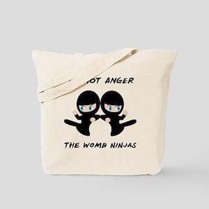Womb Ninja Twins Tote Bag