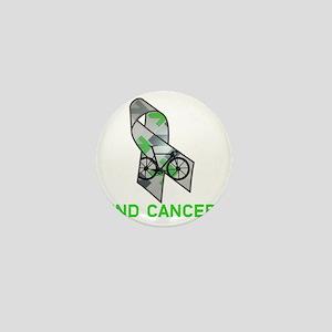 Large Ribbon End Cancer Mini Button
