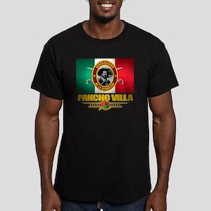Pancho Villa Men's Fitted T-Shirt (dark)